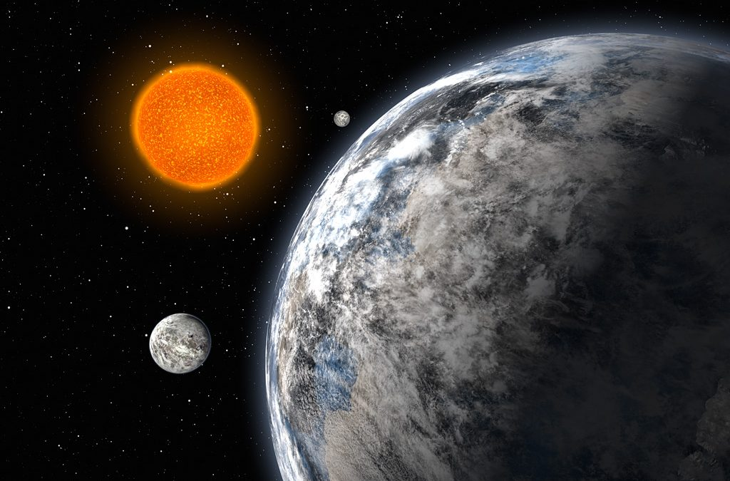 Planet puzzles in nearby star system